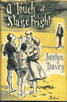 book cover of A Touch of Stage Fright
