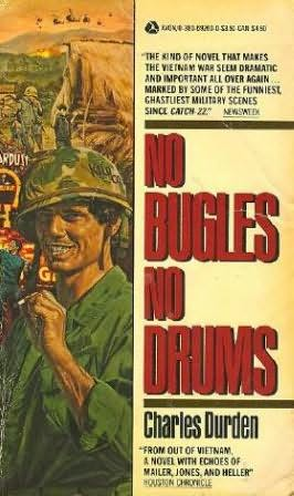 book cover of No Bugles, No Drums