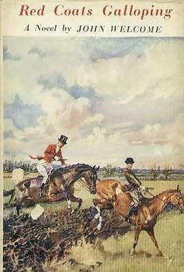 book cover of Red Coats Galloping
