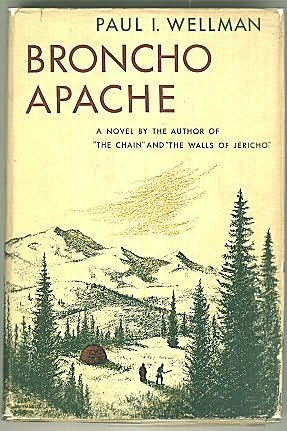 book cover of Broncho Apache