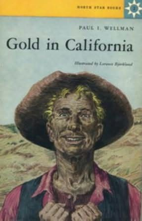 book cover of Gold in California