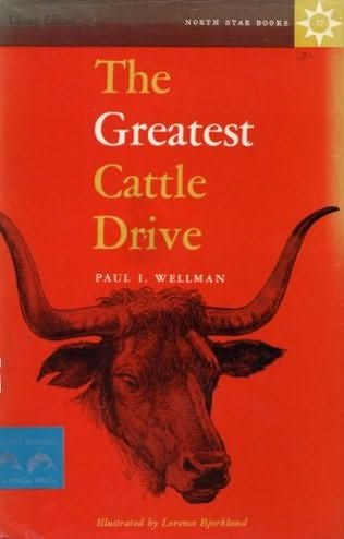 book cover of The Greatest Cattle Drive