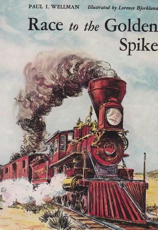 book cover of Race to the Golden Spike
