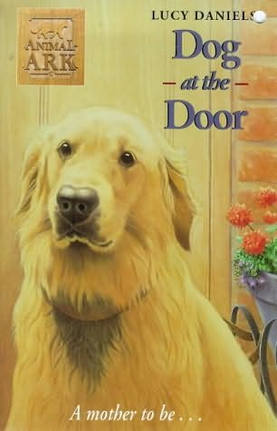 book cover of Dog at the Door