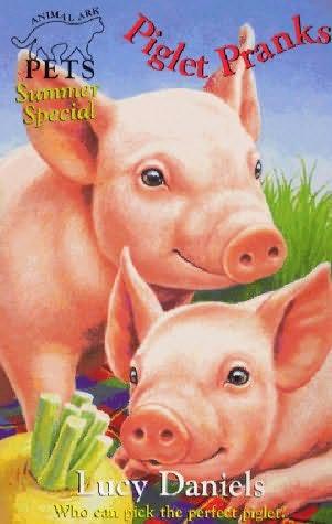 book cover of Piglet Pranks