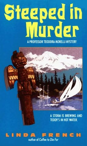 book cover of Steeped in Murder