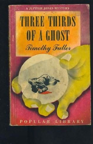 book cover of Three Thirds Of A Ghost