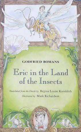 book cover of Eric in the Land of the Insects