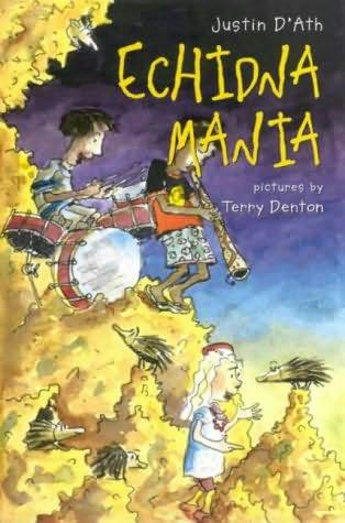 book cover of Echidna Mania