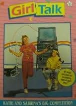 book cover of Katie and Sabrina\'s Big Competition