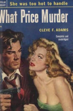 book cover of What Price Murder