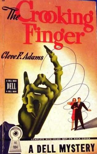 book cover of The Crooking Finger