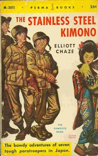 book cover of The Stainless Steel Kimono