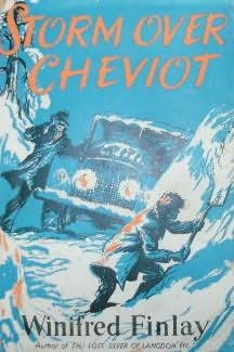 book cover of Storm Over Cheviot