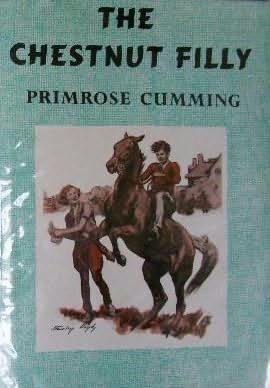 book cover of The Chestnut Filly