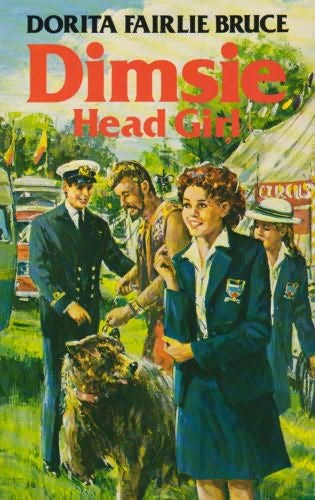 book cover of Dimsie, Head-girl