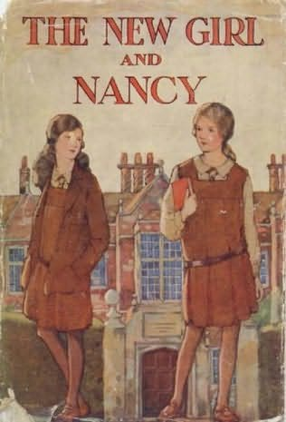 book cover of The New Girl and Nancy