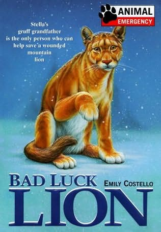 book cover of Bad Luck Lion