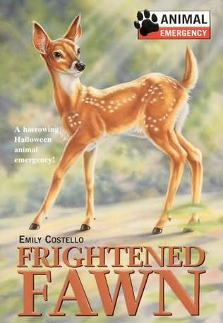book cover of Frightened Fawn