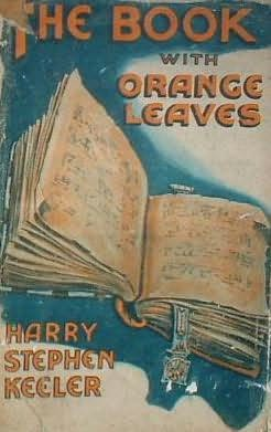 book cover of The Book with Orange Leaves