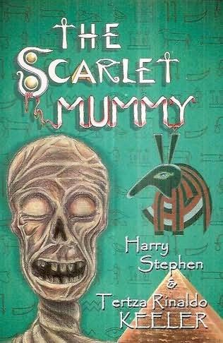 book cover of The Scarlet Mummy