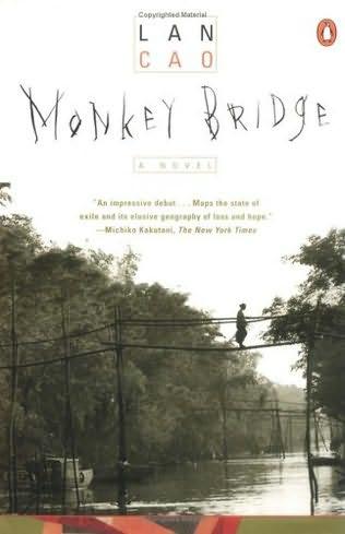 book cover of Monkey Bridge