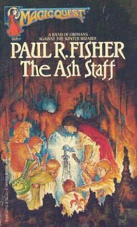 book cover of The Ash Staff