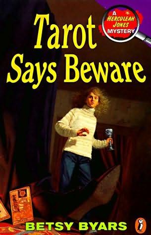 book cover of Tarot Says Beware