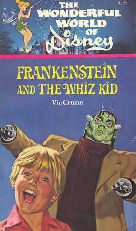 book cover of Frankenstein and the Whiz Kid