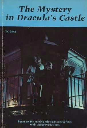 book cover of The Mystery In Dracula\'s Castle