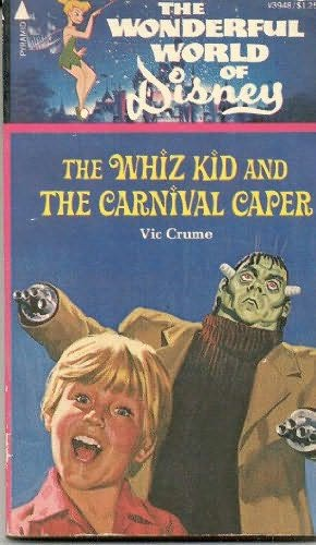 book cover of The Whiz Kid and the Carnival Caper