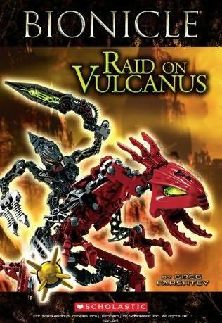 book cover of Raid on Vulcanus