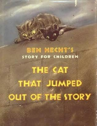 book cover of The Cat That Jumped Out of the Story