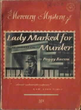 book cover of Lady Marked for Murder