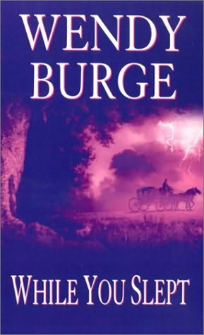 book cover of   While You Slept   by  Wendy Burge