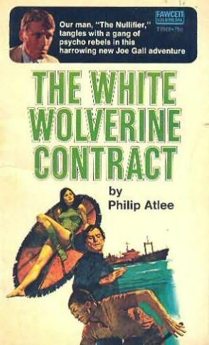 book cover of The White Wolverine Contract
