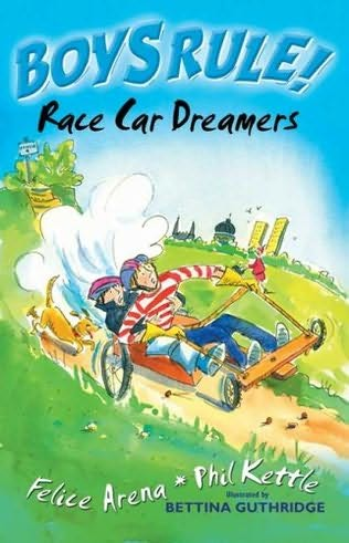book cover of Race Car Dreamers