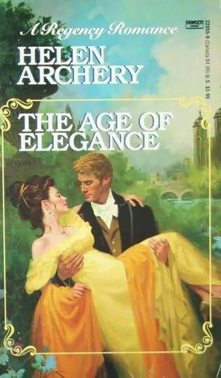 book cover of The Age of Elegance