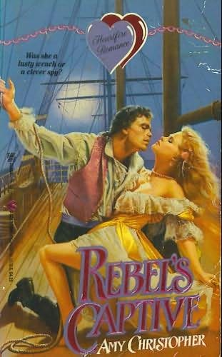 book cover of Rebel\'s Captive