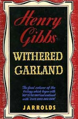 book cover of Withered Garland