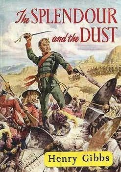 book cover of The Splendour and the Dust