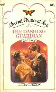 book cover of The Dashing Guardian