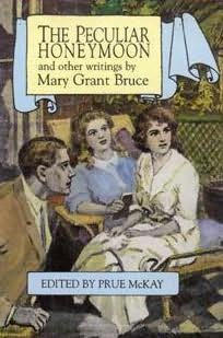 book cover of The Peculiar Honeymoon