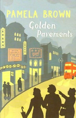 book cover of Golden Pavements