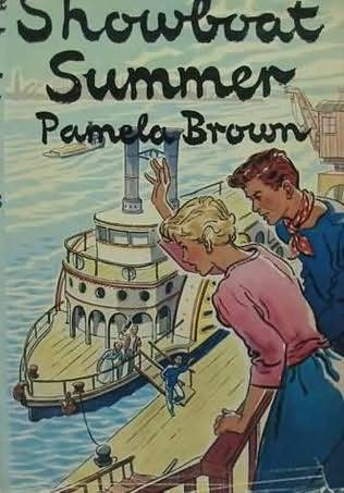 book cover of Showboat Summer
