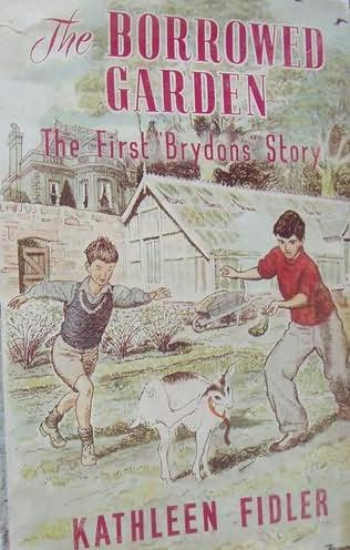 book cover of The Borrowed Garden