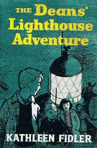 book cover of The Deans\' Lighthouse Adventure