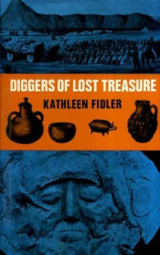 book cover of Diggers of Lost Treasure