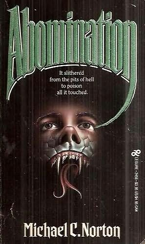 book cover of Abomination