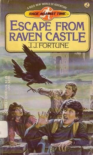 book cover of Escape from Raven Castle